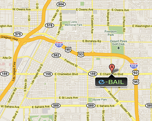 Express Las Vegas Bail Bonds Location