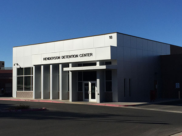 Henderson Bail Bonds and the Henderson Detention Center